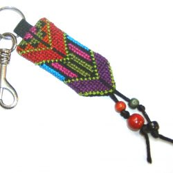 Keyring – Embroidered