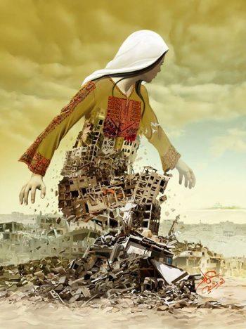 Card - Gaza rises
