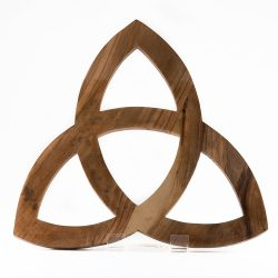 olive wood triquetra
