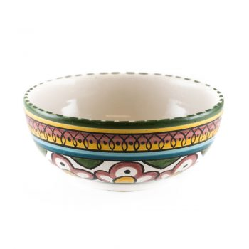 Bowl with arabesque pattern