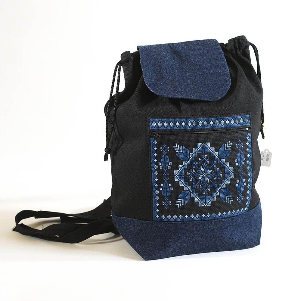 Embroidered Backpack - Hadeel 263c210ec40a2