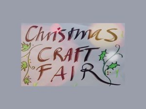 Hadeel Stall at Christmas Craft Fair - 9 Dec. Lauriston Hall.